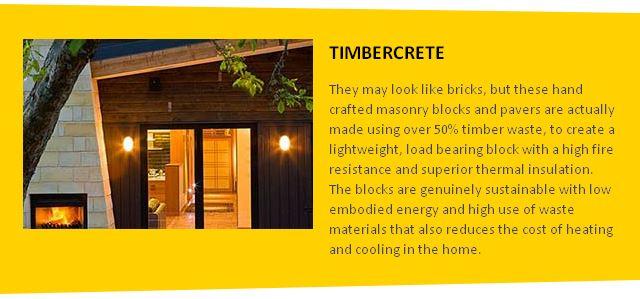 Timbercrete